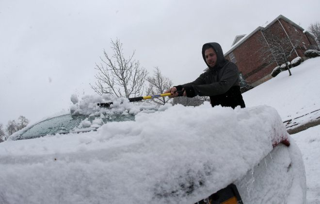 We might get some snow, but not this much. (James P. McCoy/News file photo)