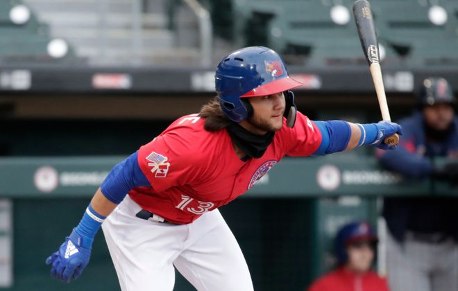 Bo Bichette led the Bisons to a 26-17 record after a he returned from a broken hand in mid-June (Harry Scull Jr./News file photo)