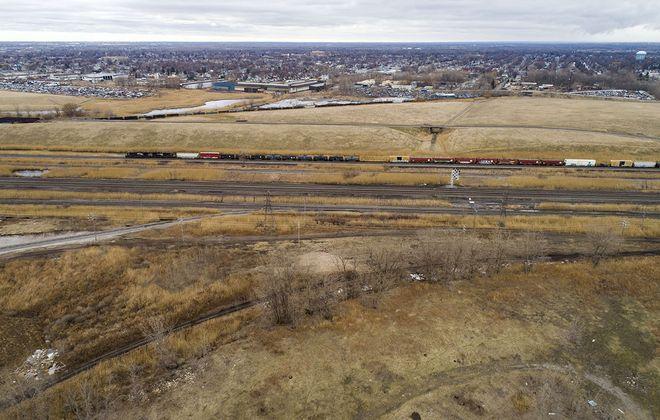 The Buffalo Lakeside Commerce Park. (Derek Gee/Buffalo News)