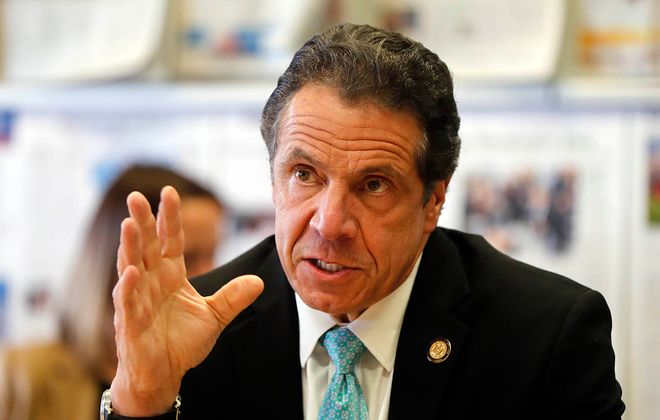 Gov. Andrew M. Cuomo. (Mark Mulville/News file photo)