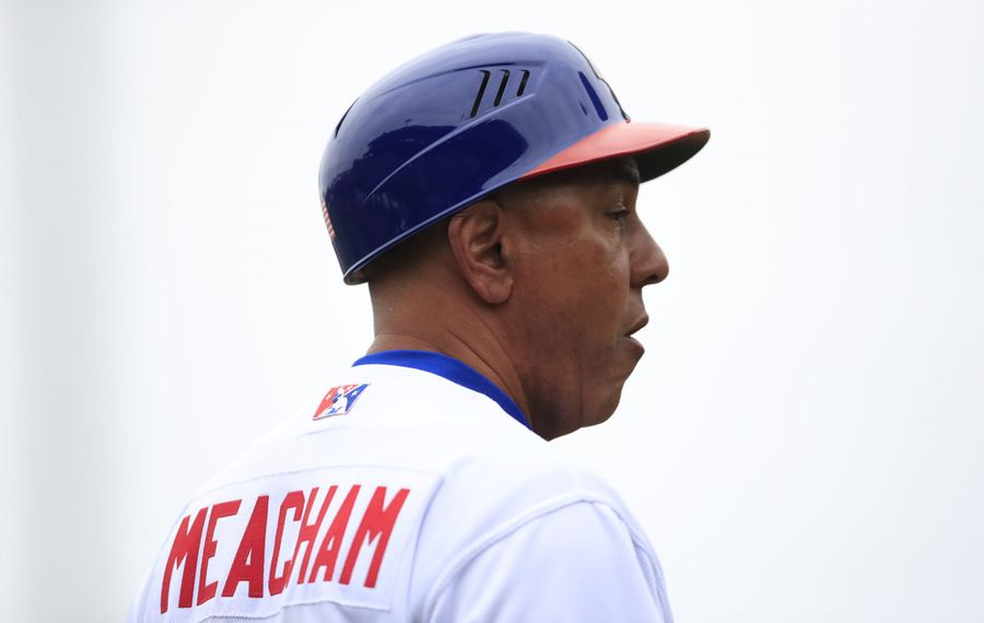 Buffalo Bisons manager Bobby Meacham. (Harry Scull Jr./Buffalo News file photo)