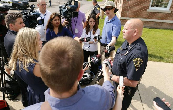 Orchard Park's former police chief, Mark Pacholec, was given a generous severance deal that town officials illegally tried to keep secret. They still won't say why the former chief left his job. (Derek Gee/News file photo)