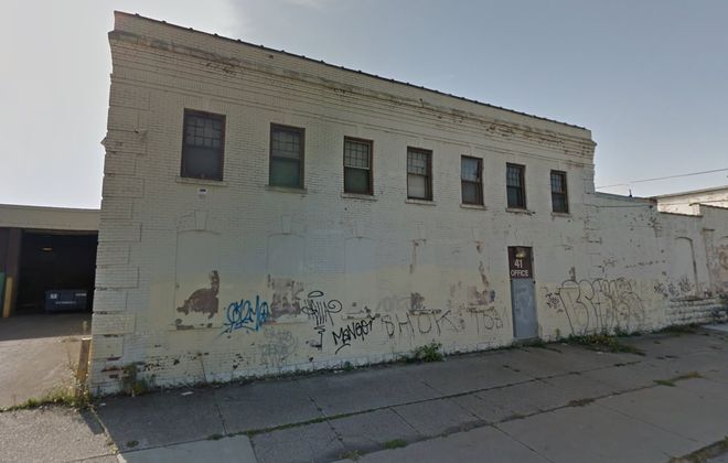 This former light industrial building at 41 Chandler St. is being targeted for a brewery collective. (Google)