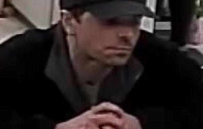 Cheektowaga Police suspect this man of robbing the Citizens Bank inside the Tops Friendly Market at Thruway Plaza on April 18, 2019. (Cheektowaga Police)
