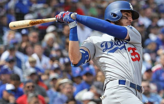 Cody Bellinger is off to a hot start for the Dodgers (Getty Images).