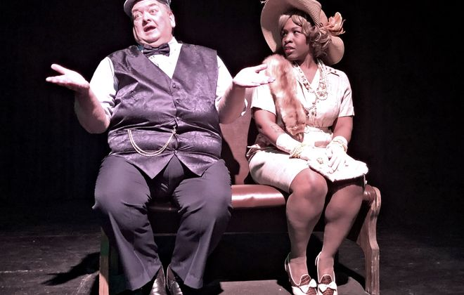 """A series of short plays, """"Buffalo Quickies,"""" is back again this year at Alleyway Theatre. Pictured are Michael Starzynski and Shawnell Tillery."""