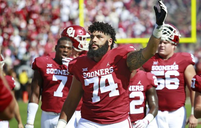 Cody Ford starred at Oklahoma. (Getty Images)