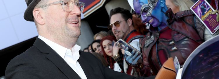 """Buffalo native and screenwriter Christopher Markus attends the Los Angeles world premiere of his most recent film, """"Avengers: Endgame."""" He is returning home for an event at the North Park Theatre. (Getty Images)"""