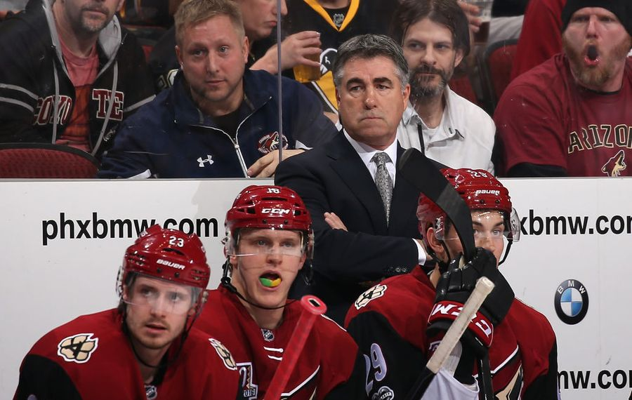 Dave Tippett won the Jack Adams Award in 2010. (Getty Images)