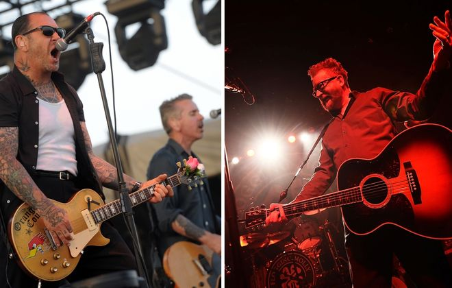 Social Distortion, left, and Flogging Molly will both star in late August at Canalside. (Michael Loccisano/Getty Images)