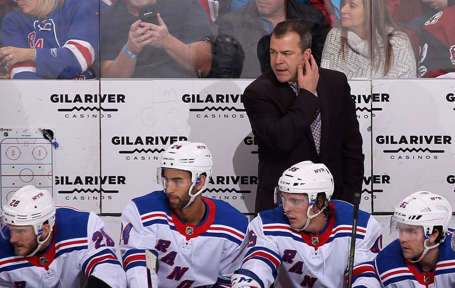 Alain Vigneault will coach Team Canada at next month's World Championships. (Getty Images)
