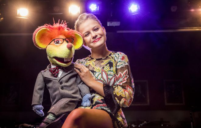 "Young ""Americas Got Talent"" winner Darci Lynne Farmer will be at the Erie County Fair with her friends. (Photo by Todd Rosenberg)"
