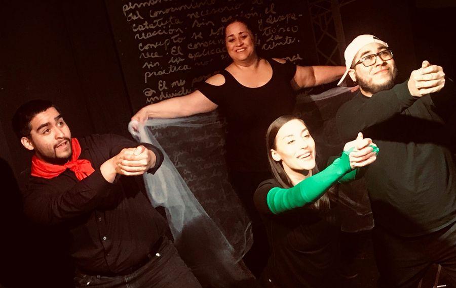 Alejandro Gómez, Lissette DeJesús, María Pérez-Gómez, Rolando E.  Gómez Racies Theatre Company