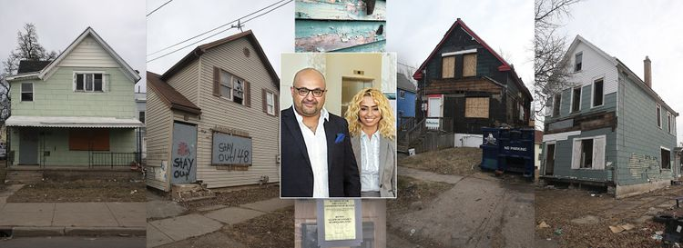 AbdulAziz Bin HouHou and Bedour Haidar, his wife, in a 2013 photo. HouHou was sentenced to 10 years in a Kuwait prison for a house flipping scheme that involved properties in Buffalo, Rochester, Cleveland and Detroit, as well as land in Florida. (HouHou/Haidar photo provided; other photos by John Hickey/Buffalo News)