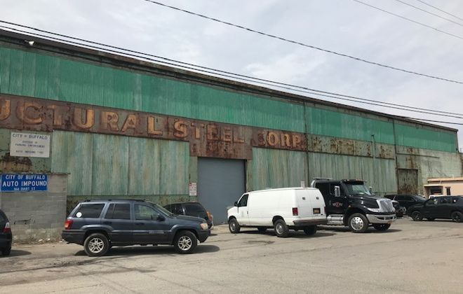 SUNY Buffalo State is seeking to expand on Dart Street and the city's 7-acre auto impound site, which is being relocated.