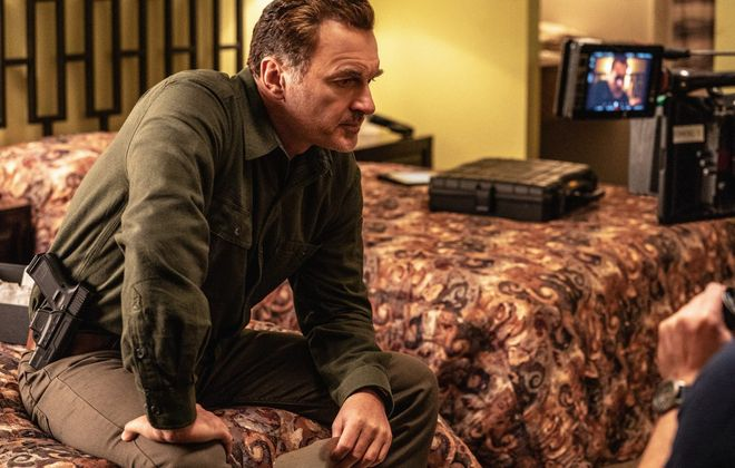 """Julian McMahon: Star of """"Most Wanted,"""" a spinoff of """"FBI"""" on CBS that had a Buffalo angle. (Mark Schafer CBS)"""