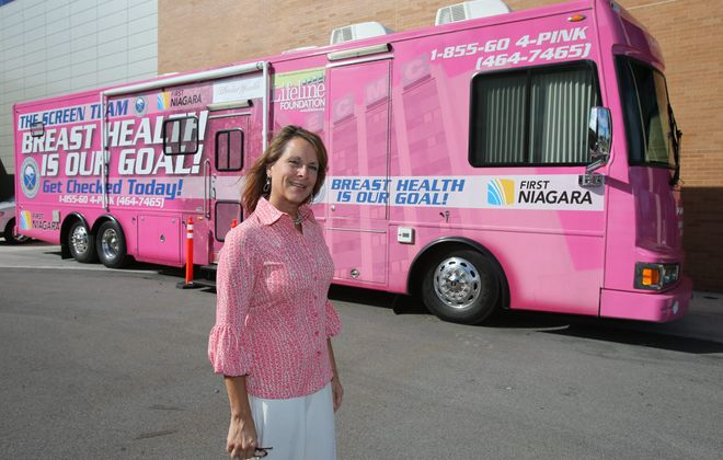 The Susan G. Komen upstate chapter is giving the Erie County Medical Center Foundation $67,143 for the foundation's mobile mammography unit. (Buffalo News file photo)