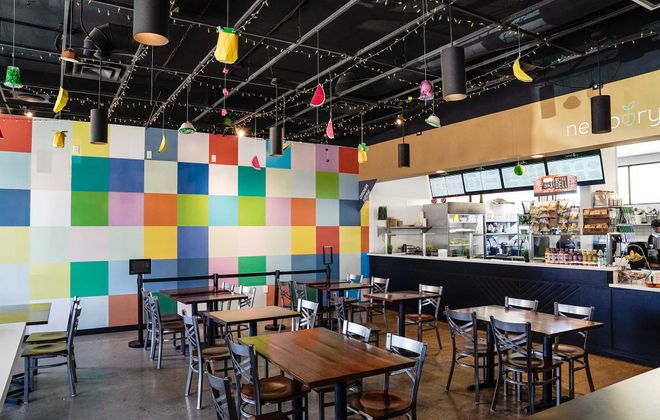 PK Eats on Hertel Ave. serves up two food options, ample seating and off-street parking. (Dave Jarosz)