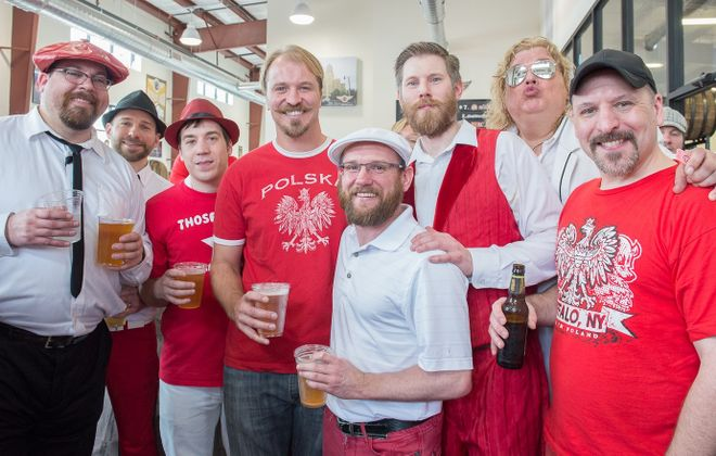 Polka band Those Idiots will come back this year to Pils, Pierogi and Polka, a pre-Dyngus Day event held in Flying Bison. (Sarah K. McIlhatten/Special to The News)