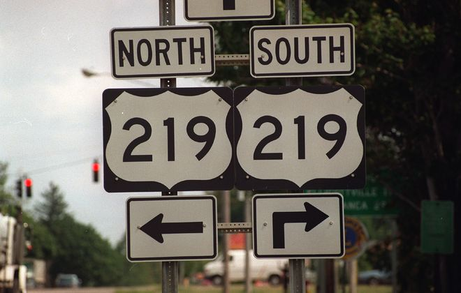Lane shifts planned on Route 219  for bridge maintenance