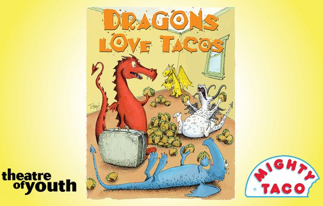 "TOY's ""Dragons Love Tacos"" is Fiery Fun for the Whole Family"