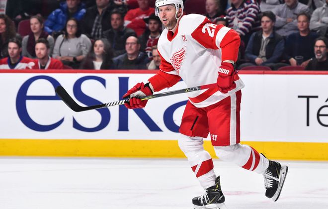 Thomas Vanek has 16 goals for the Red Wings this season. (Getty Images)
