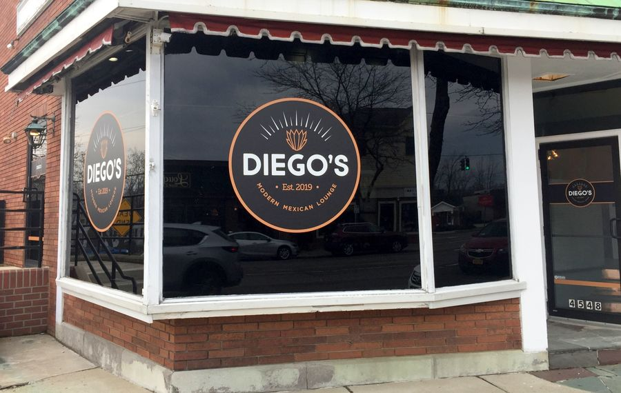 The former site of Diego's Modern Mexican Lounge, will be turned into an old-school steakhouse. (Andrew Galarneau/Buffalo News)
