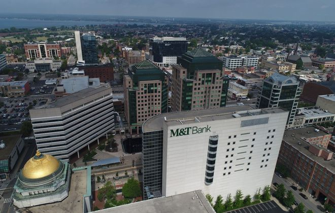 M&T already has a significant downtown presence. (Derek Gee/News file photo)