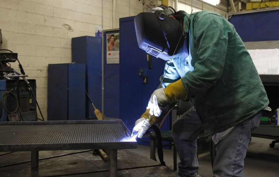 A new study highlights barriers to diversifying the region's manufacturing workforce. (News file photo)