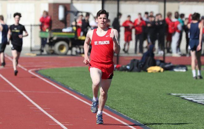 St. Francis runner Tim Maciejewski will attend the U.S. Naval Academy. (James P. McCoy/Buffalo News)
