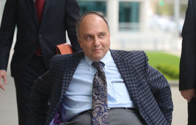 Rochester developer Robert C. Morgan claims that federal prosecutors have violated his right to a speedy trial. (John Hickey/News file photo)