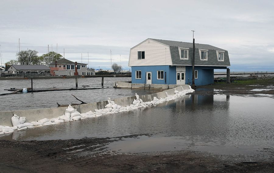 Gov. Andrew M. Cuomo is suing the International Joint Commission because of flooding on Lake Ontario. It's largely a pointless and misdirected effort. (John Hickey/Buffalo News)