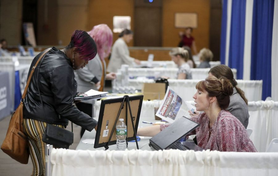 With  unemployment hovering around historic lows, employers are still offering positions at job fairs. (Mark Mulville/News file photo)