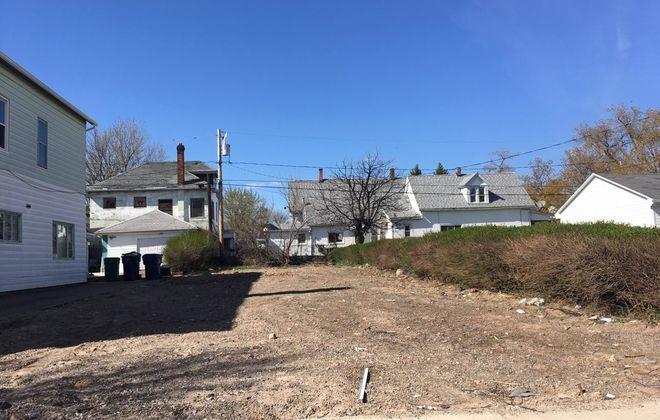 Seventeen Buffalo houses flipped by AbdulAziz HouHou and his associates were demolished, including the one at 1258 E. Lovejoy St. (Susan Schulman/Buffalo News)