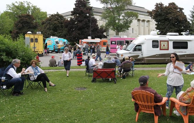 The Food Truck Rodeo returns to the Buffalo History Museum. (James P. McCoy/News file photo)