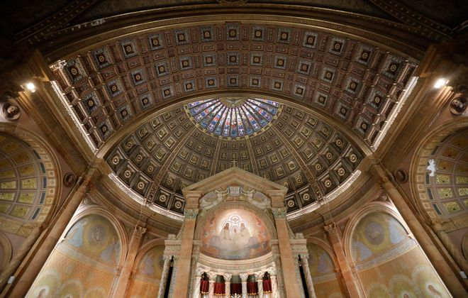 The interior of Blessed Trinity Church. (Derek Gee/News file photo)