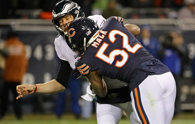 Khalil Mack was a dominant force for the Bears (Jonathan Daniel/Getty Images)
