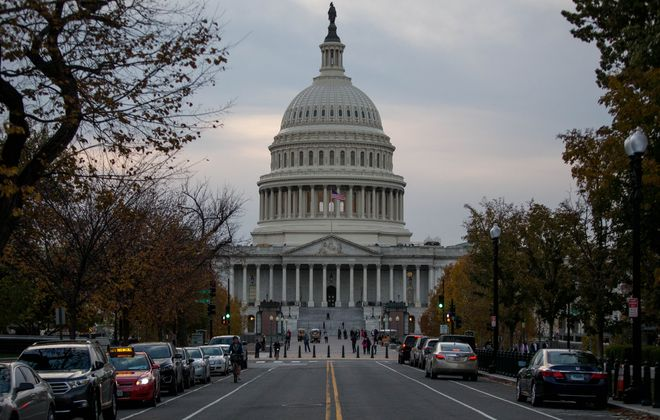 The Capitol Building is pictured on Nov. 8, 2016 in Washington, D.C. (Getty Images)