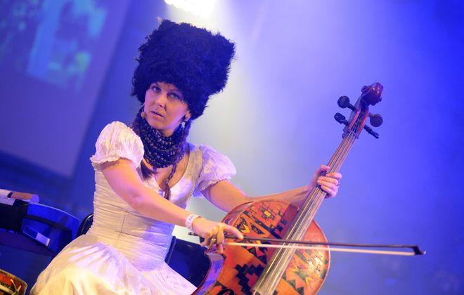 Ukrainian band DakhaBrakha brings its brave new hybridization of world musics to Artpark on June 9. (Getty Images)