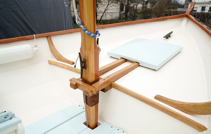 The handcrafted details of Interlaken's wooden boats