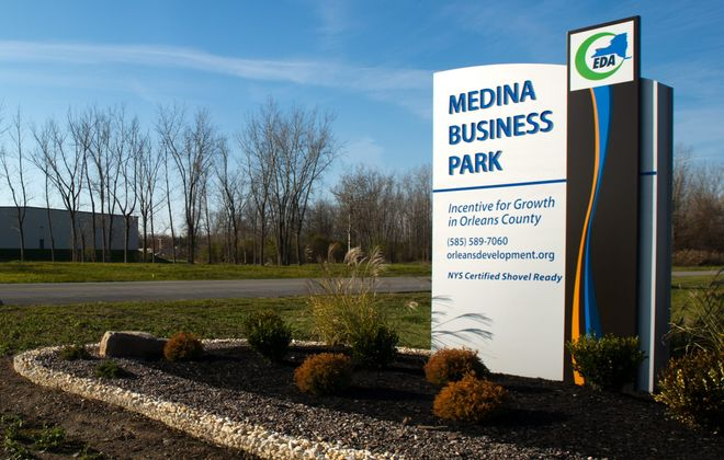 Medina Business Park. (Courtesy of Orleans County Economic Development Agency)