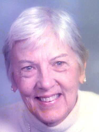 Sally M. Hartmayer, 93, longtime office manager at St. Amelia's Parish