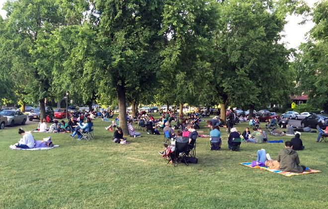 Buffalo Reading Invasion hosts three public read-ins during the summer.