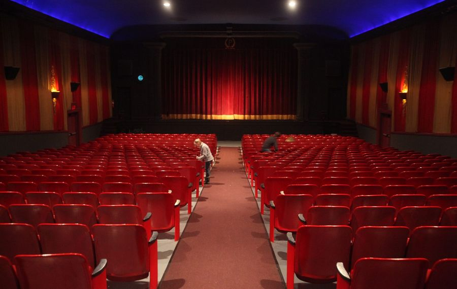 Two upcoming movies will benefit the Palace Theatre, 31 Buffalo St., in Hamburg. (Buffalo News file photo)