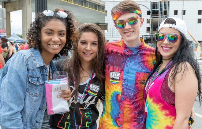 The annual Buffalo Pride Festival at Canalside is a celebration of unity and acceptance. (Don Nieman/Special to The News)