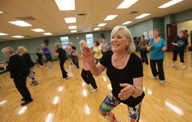 Zumba classes like this one at the Independent Health Family Branch YMCA in Amherst are among those that will be offered free to those who would like to try them from June 1-8.  (Sharon Cantillon/News file photo)