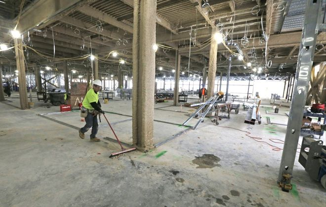ECMC's critical new trauma and emergency department is set to open in April 2020. (Robert Kirkham/Buffalo News)