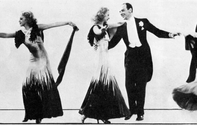 Fred Astaire with Ginger Rogers