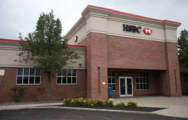HSBC Bank's operations in Depew. (News file photo)