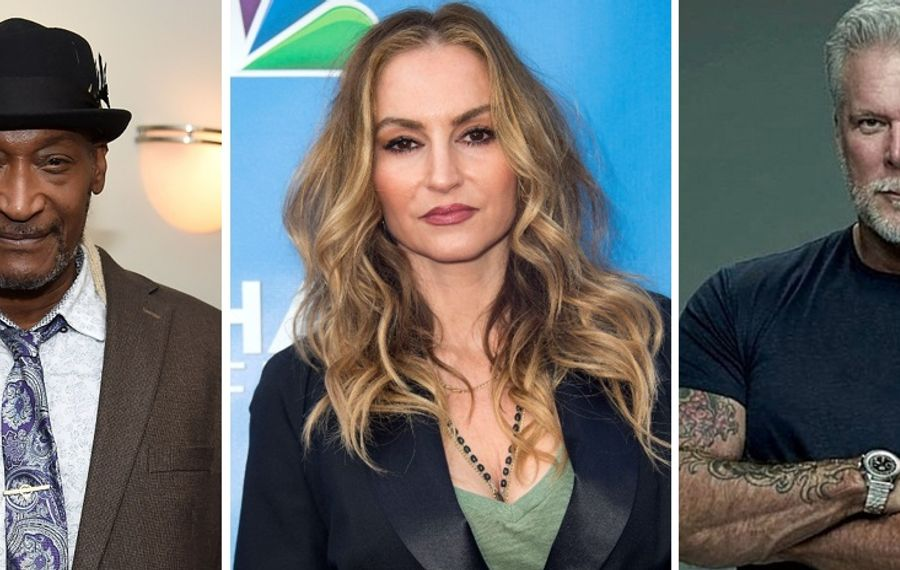 Tony Todd, left, Drea De Matteo and Kevin Nash are just three of the celebrities headed to Nickel City Con 2019. (Todd and De Matteo  images from Getty)